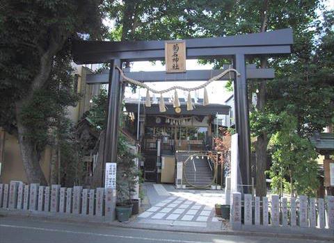 菊名神社の大鳥居
