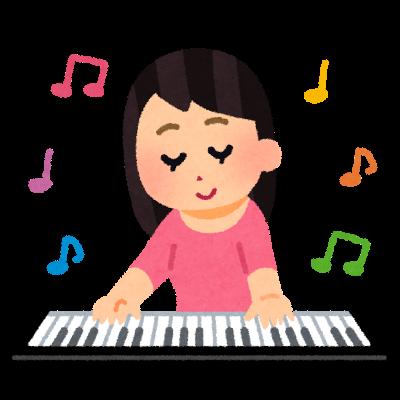 ピアノの弾き語り