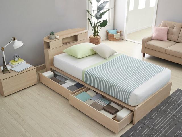 ベッド下収納のイメージ
