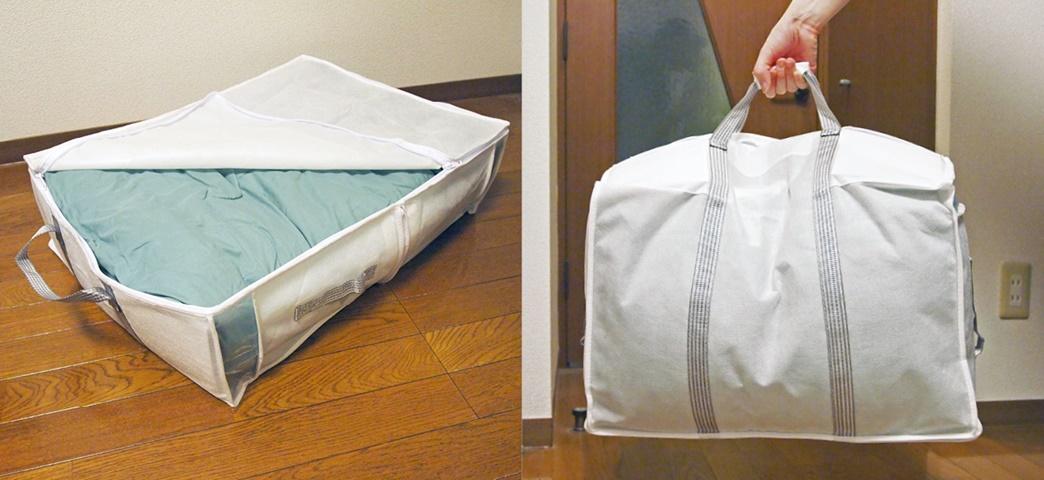 布団収納バッグのイメージ