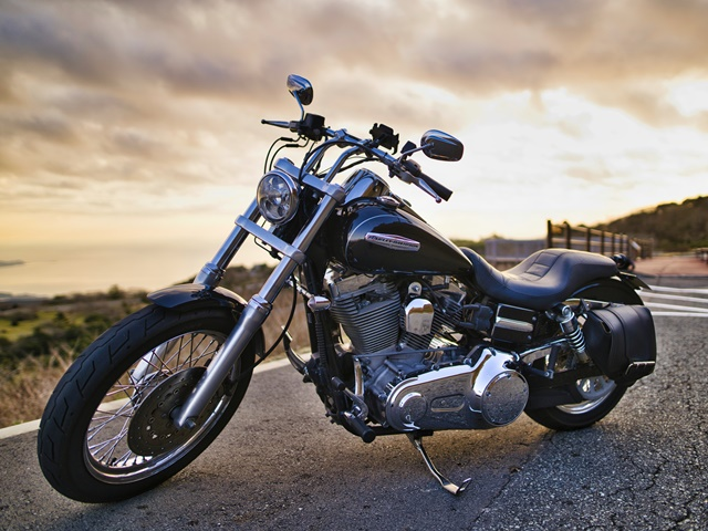 バイクを保管するイメージ