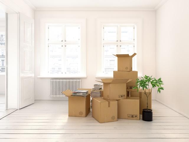 引っ越し荷物のイメージ