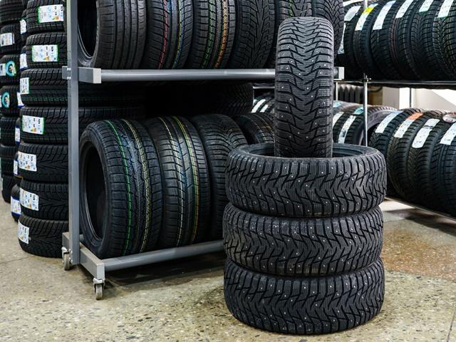 タイヤ保管のイメージ