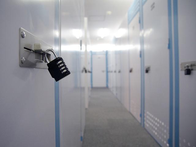 トランクルームのセキュリティ