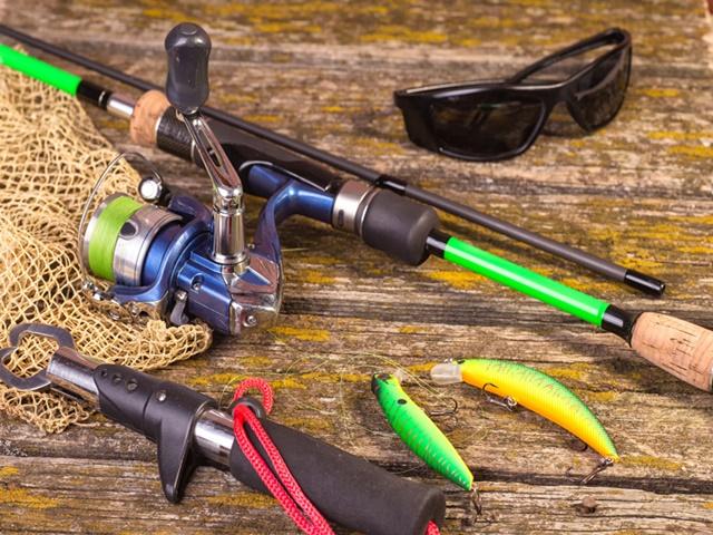 釣り道具のイメージ