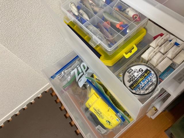 釣り道具小物収納